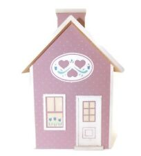 Pine Creek Collection Dusty Rose & Ivory Tissue Box Cover House