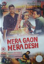 MERA GAON MERA DESH - GVI BOLLYWOOD DVD - DHARMENDRA.