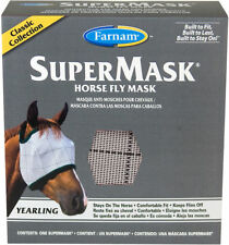 FARNAM FLY MASK SUPER MASK ENGLISH OR WESERN YEARLING / PONY SIZE HORSE