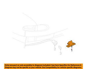 GM OEM License Plate Light-Lamp 16515822
