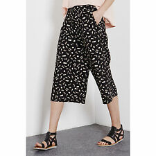 WAREHOUSE SMUDGY PRINT CULOTTES BLOGGERS UK 18 BNWT SOLD OUT