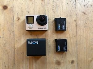 GoPro Hero 4 Black Edition Action Sports Camera Used