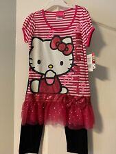 Girls 2 Piece Hello Kitty Pant Set NWT Size 6
