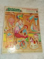 Rainbow Works Christmas 8 Ornament Puzzle 2-Sided Cardboard (No. 75900-4)