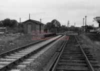 PHOTO  EYETHORN RAILWAY STATION 1957 VIEW OF THE FORMER EAST KENT RAILWAY STATIO