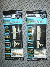 Snaptoggle Two Packs Of 2 Each Heavy Duty Toggle Bolts