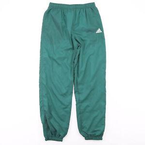 Vintage ADIDAS Lined Green Regular Sports Jogger Boys XL
