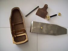 """Reproduction Norris coffin sided cast bronze  smoothing plane kit 2 3/16"""""""