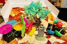 4pc Fish Tank Decorations Halloween Themed