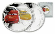 Niue -2017 - 1 OZ Silver  Proof Coin-  Disney Pixar Cars - Cars 3