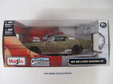 Maisto Custom Shop 1967 Ford Mustang Gt 1:24 Sealed Unopened