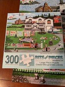 .PUZZLE..JIGSAW...Cat Lover's Society...300pc..Complete