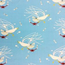 CHB44 Charley Harper Sea Life Seagull Crab Beach Feather Cotton Quilt Fabric