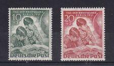 Briefmarken aus Berlin (1950-1951) mit Falz