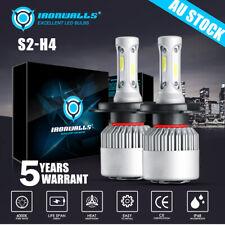 For Mitsubishi Triton MN 2009-2015 Headlight Globes Kit LED Hi-Low beam 14400lm