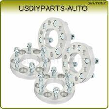 "4X 1"" (25mm) thick wheel spacers silver 6x4.5 1/2"" studs for Dodge Viper Dakota"