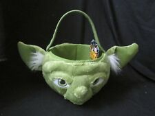 New with Tags Star Wars Easter or Halloween Basket Yoda Edition Plush Candy Bag