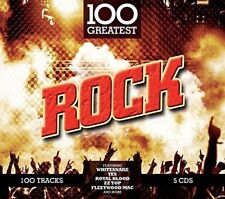 100 GREATEST: ROCK: 5CD SET (New Release November 10th 2017)