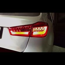 LED Tail Lights Rear Lamps For Mitsubishi ASX Out Lander Sports 2012~2014