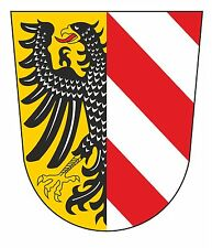 1x Sticker Nurnberg Germany Crest for Skateboard SUV Motorhome Motorcycle Tablet