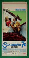 L42 Plakat Casanova 70 Mastroianni Monicelli Lisi Mercier Mell Orfei