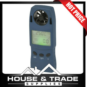 Hand-held Anemometer and Altimeter LED Backlight QM1645