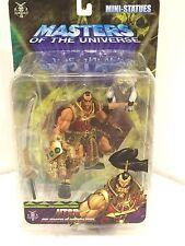 **sale masters of the universe mini statues lot and more..even Jitsu mini statue