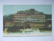 Hong Kong 香港 CHINA Cina 中國 old post card Peak Hotel Tramway Station