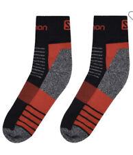 Salomon Outdoor Merino Low Walking Socks 2 Pack Size 5.5-7 BRAND NEW