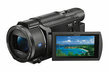 Sony Fdr-ax53 4k HD Handycam Camcorder Video Camera Mega Kit 2 YR