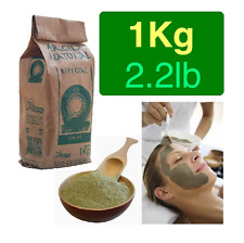 Illite Organic French Green Clay Powder Face Mask ACNE 1Kg 2.2lb Free Shipping