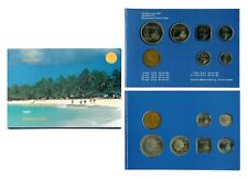 Aruba 2005 Prototype Euro 8 coin set in orig packaging-Turtle on 1/&2 Euro coins