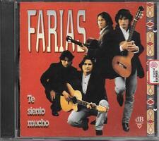 """FARIAS - RARO CD FUORI CATALOGO """" TE SIENTO MUCHO """""""