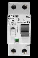 CLIPSAL 63 AMP 10kA 30mA DOUBLE POLE RCD T2263030S