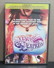 Festival Express   (DVD)   Never Before Seen Footage     LIKE NEW
