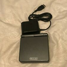 Nintendo Game Boy Advance SP Graphite Handheld System AGS-101 Bundle