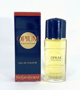 OPIUM YVES SAINT LAURENT EAU DE TOILETTE POUR HOMME 7.5 ml 0.20 floz miniperfume