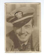 Vintage 1939 JOHN PAYNE Handsome DBW 5x7 Portrait 20TH CENTURY-FOX Studio SIGNED
