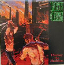 Earth Crisis - Destroy The Machines LP Classic Hardcore Punk Vinyl - SEALED w DL