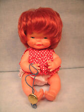 Charlot Byj Doll Goebel West Germany Red Head Girl Baby Doll tag