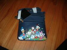 LOUNGEFLY DISNEY DUCKTALES CAST CROSSBODY BAG~ WITH TAGS~ NEW~ STRAP~