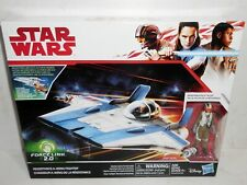 Hasbro Disney Star Wars RESISTANCE A-WING FIGHTER & PILOT TALLIE Force link 2.0