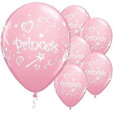 JOLIES FILLES ROSE PRINCESSE 27.9cm Latex Fête d'anniversaire ballons