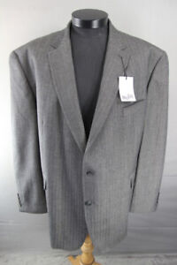BNWT CENTAUR BIG & TALL WOOL RICH STRIPED TAUPE JACKET 46-56 INCH CHEST RRP £139