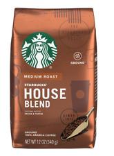 New listing Starbucks House Blend Medium Roast Ground Coffee 12 Oz New Sealed