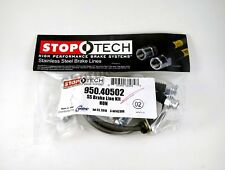 STOPTECH STAINLESS STEEL REAR BRAKE LINES FOR 02 03 04 05 HONDA CIVIC SI EP3