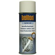 Rostschutzlack weiß Spray 400ml Metallschutz Lack Farbe Lackspray Sprühdose