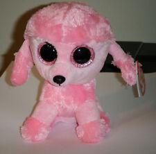 Ty Beanie Boos~ PRINCESS the Dog (6 Inch)(Glitter Eyes / Sparkle Eyes) NEW MWMT