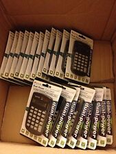 LOT OF 10 Sentry Dual-Power Calculator Solar and Battery CA338 WHOLESALE