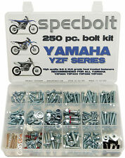 250pc Bolt Kit Yamaha YZF450 YZF250 YZF400 YZ 250F 400F 426F 450F Fenders engine